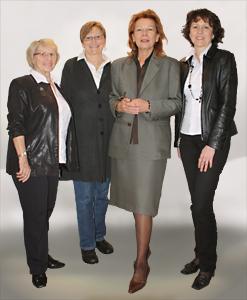 Eva Schuh mit Team